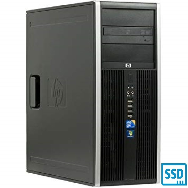 HP 8100 ELITE I5-650 DDR 8GB 120 GB SSD + 320GB HDD - DVD-R WIN 10 PRO