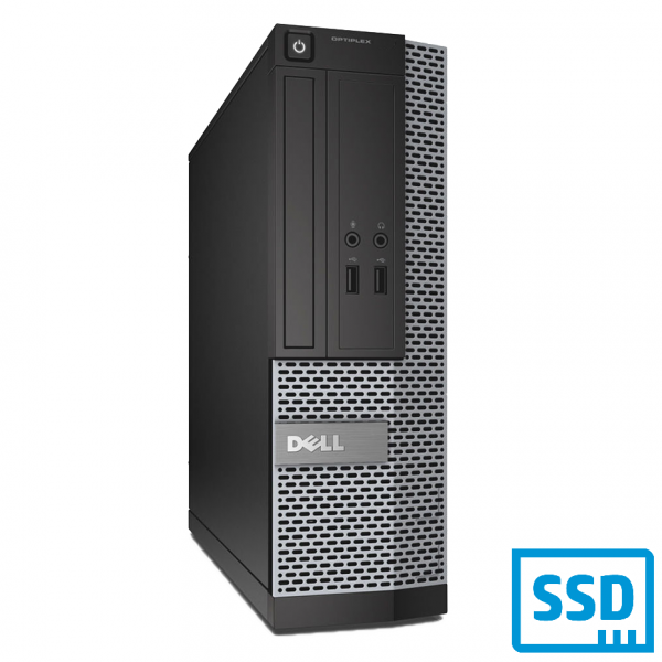DELL OPTIPLEX 3020 SFF INTEL CORE I5-4460 8 GB RAM 256 GB SSD WIN 10 PRO