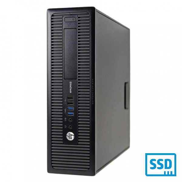 HP 800 G2 SFF INTEL CORE i5-6500 8GB RAM 256 GB SSD WIN 10 PRO